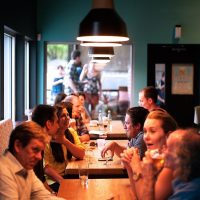 Postdoc Dinner Meeting at La Dolce Vita July 2021
